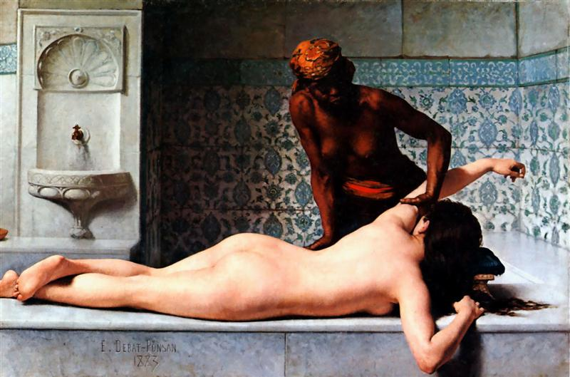 The-massage-scene-at-hammam