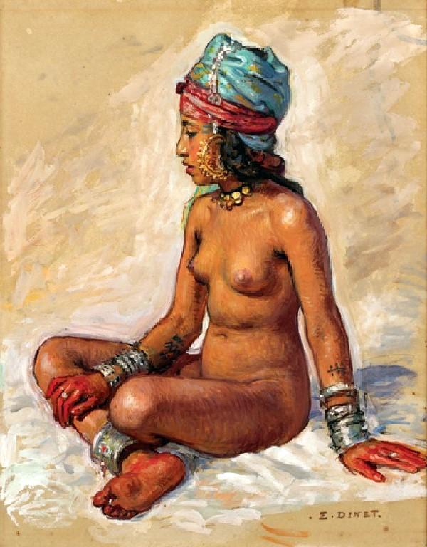 Etienne Dinet - Femme Kabyle