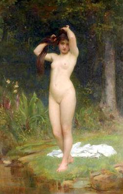 A Woodland Nymph