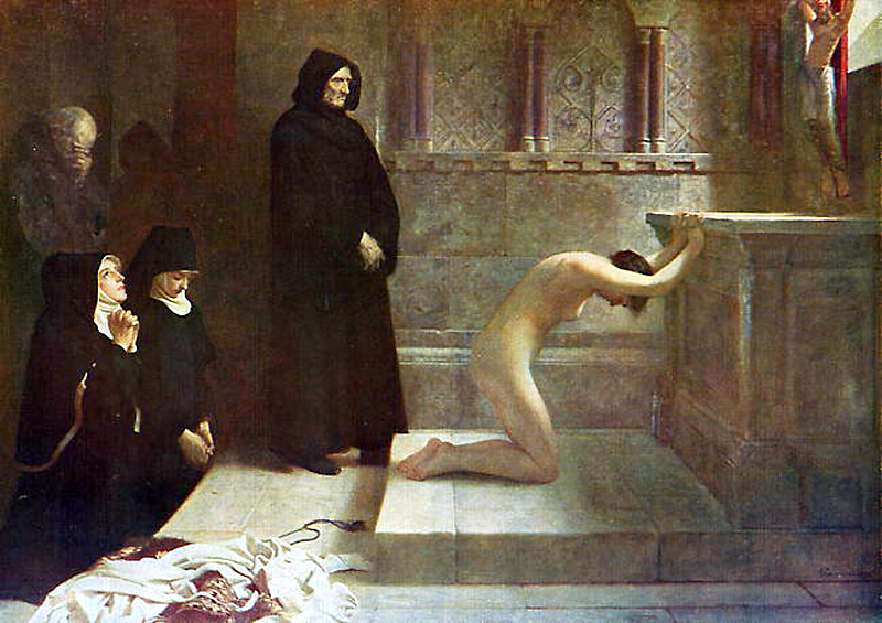 St.Elizabeth Of Hungary's Great Act Of Renunciation