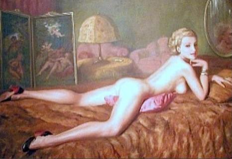 Erotic Female Act In The Boudoir