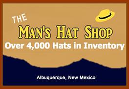 Man's Hat Shop - Cowboy Hats
