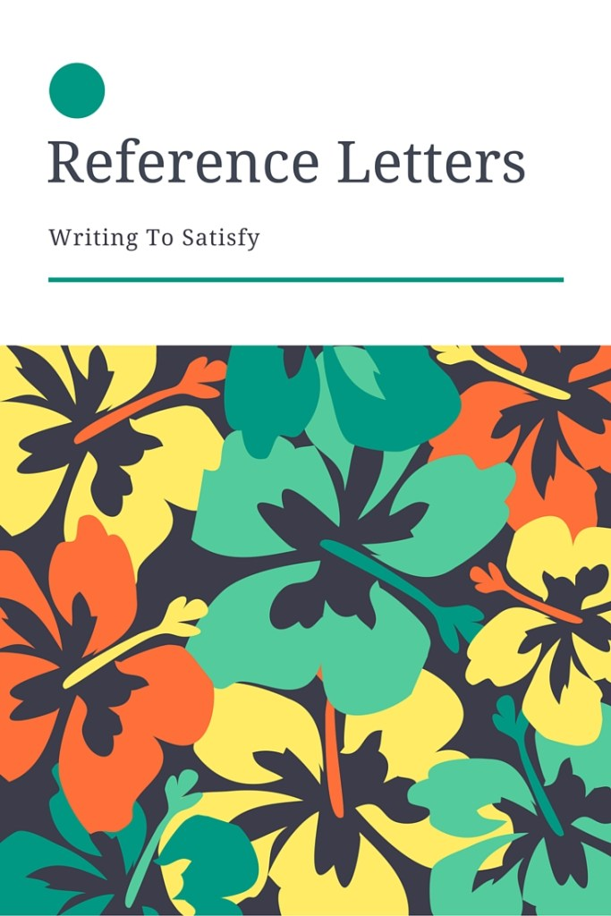 Reference Letters