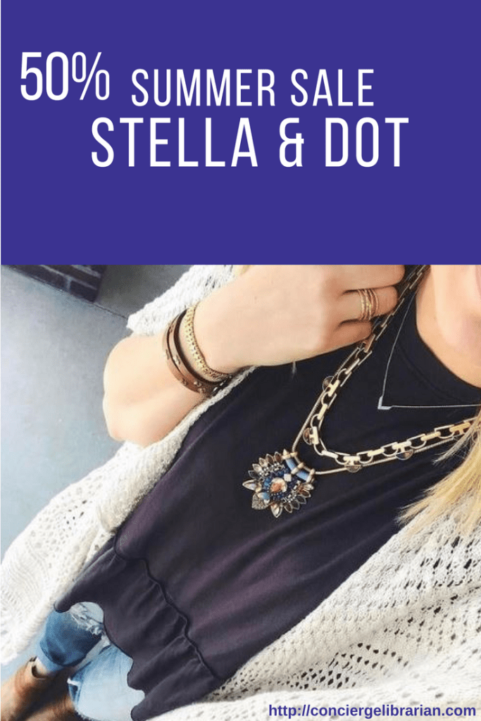 Stella Dot Summer Sale