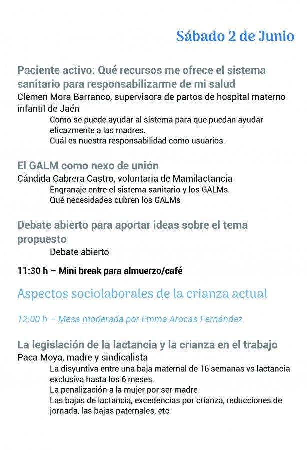 Foro Andaluz de Galms pagina de programa 2