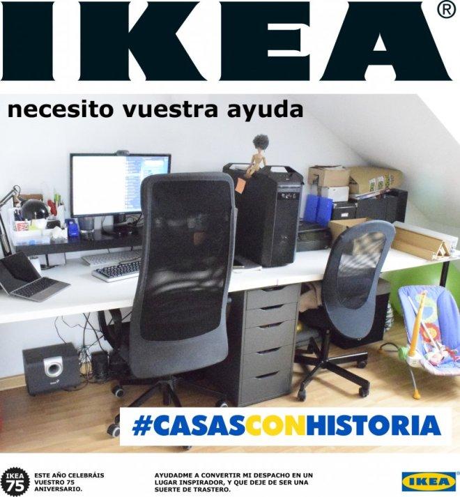 Propuesta para el concurso CasasConHistoria de Ikea y Madresfera, pagina 1