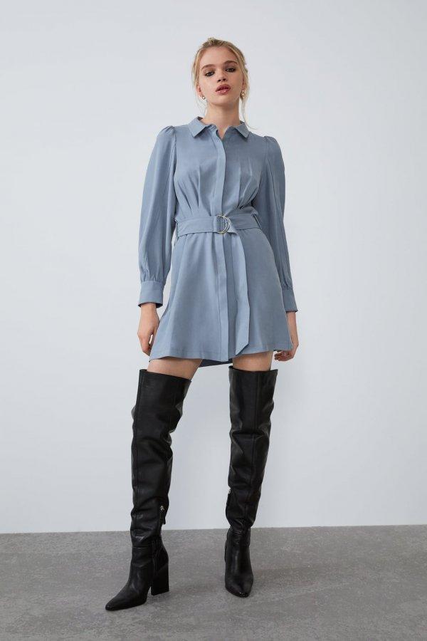 Alternativas para dar el pecho sin usar ropa de lactancia vestido camisero ceñido