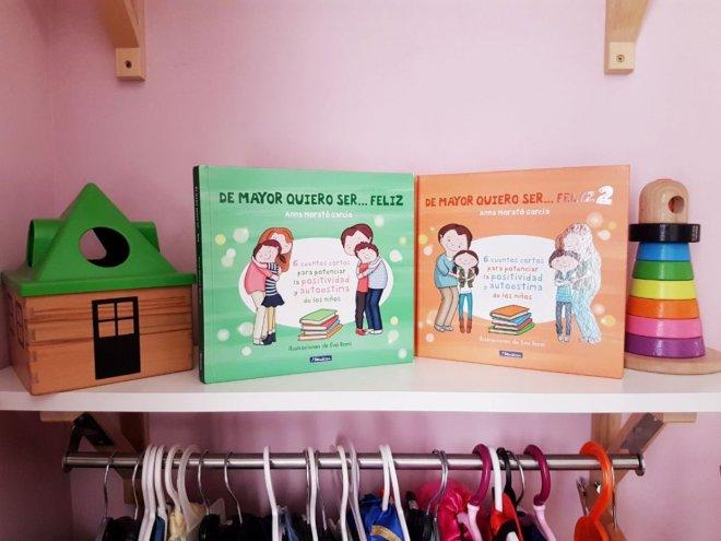 Foto de los libros De mayor quiero ser feliz 1 y 2
