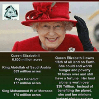 BRITISH-ISRAEL ROTHSCHILDS ZIO-CRIME SYNDICATE & SUPER-PUPPET QUEEN LIZ AGENDA = GENOCIDAL DEPOPULATION OF THE WORLD = VIEWS HUMANS AS ANIMALS THAT MUST BE CULLED FROM 7.5 BILLION TO NO MORE THAN 2 BILLION = 73+% REMOVAL OF HUMANS BUT NOT ZIONISTS