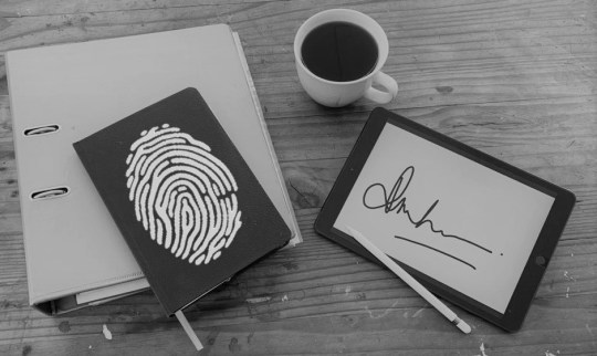 Digital Electronic Signatures and Forms