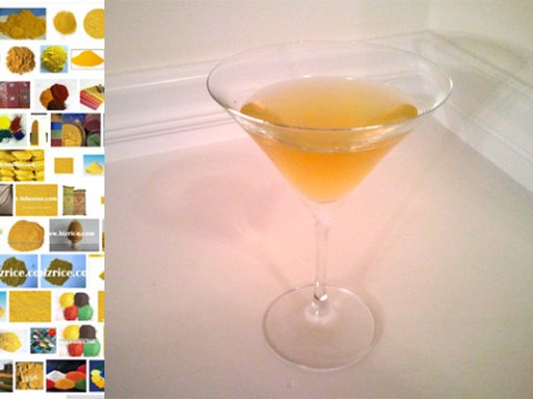 Iron Oxide Yellow cocktail