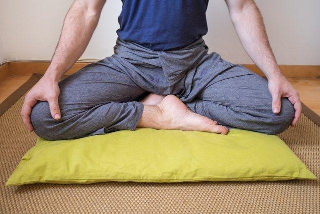 Postura birmana (meditación)