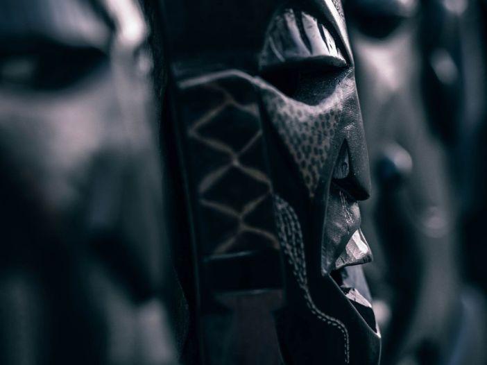 Fotografía de máscaras rituales. Igor Ovsyannykov (CCO)