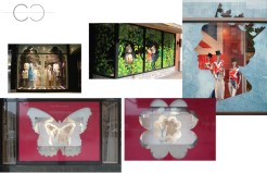 Macaron Franchise: Window Display Ideas
