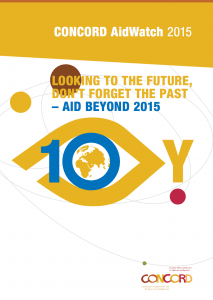 Aidwatch report 2015 cover page