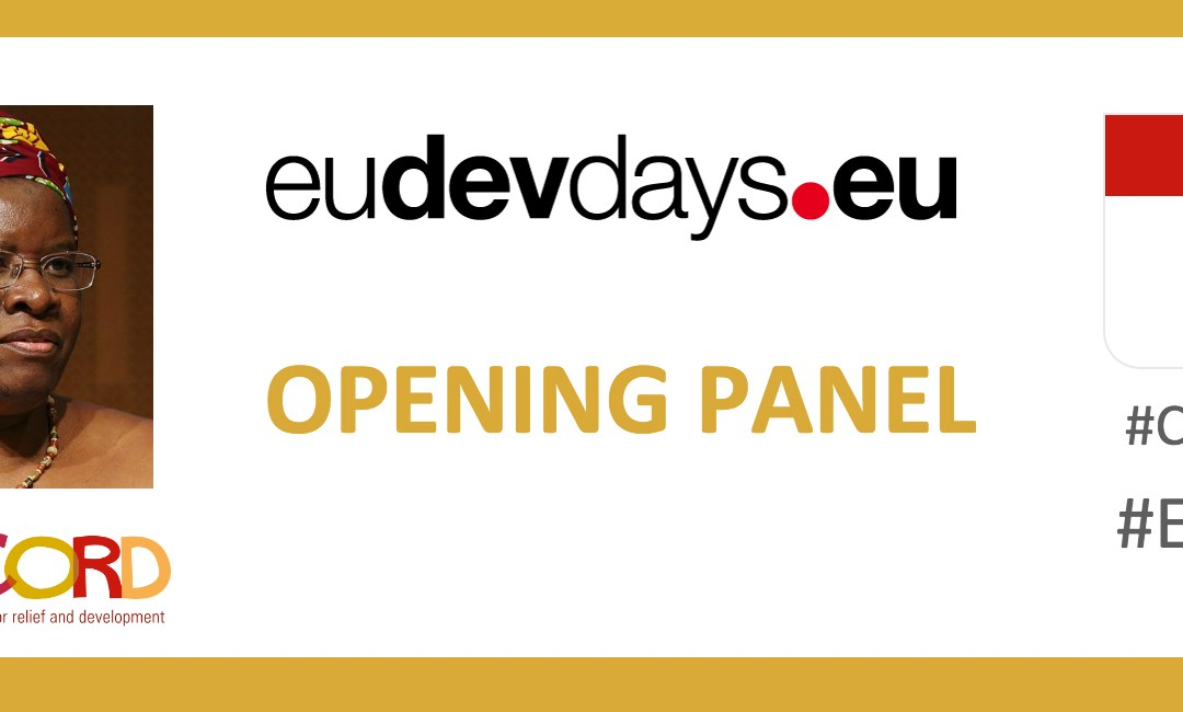 European Development Days 2016: CONCORD in the Opening Panel