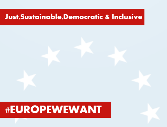 Over 230 NGOs join our call for the Europe We Want