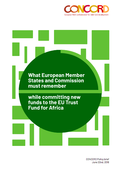 What European Member States and Commission must remember while committing new funds to the EU Trust Fund for Africa