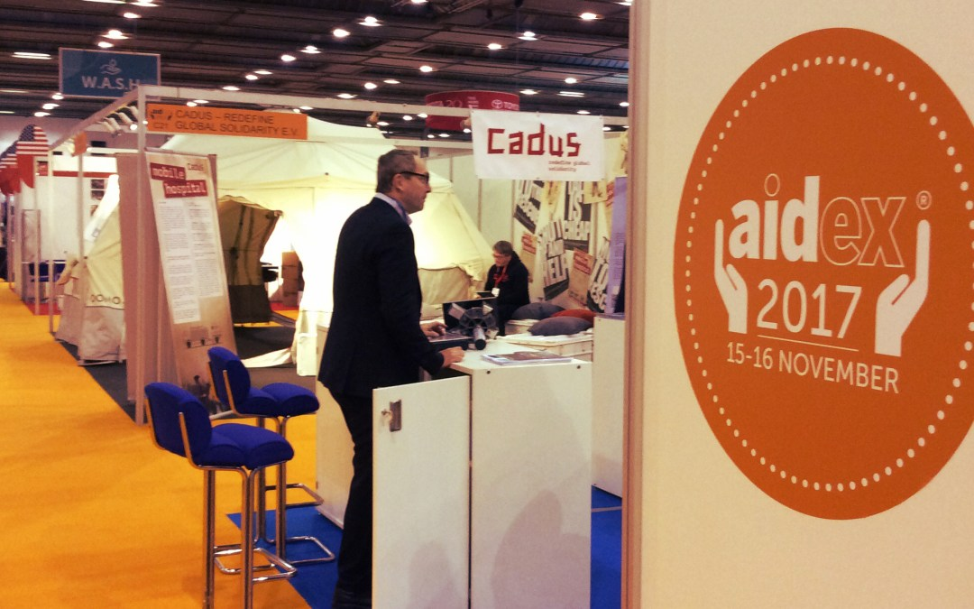 Development aid, what's up? Reporting back from AidEx Brussels