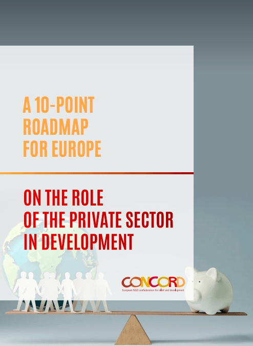 10 point roadmap for Europe on the role of the private sector in development