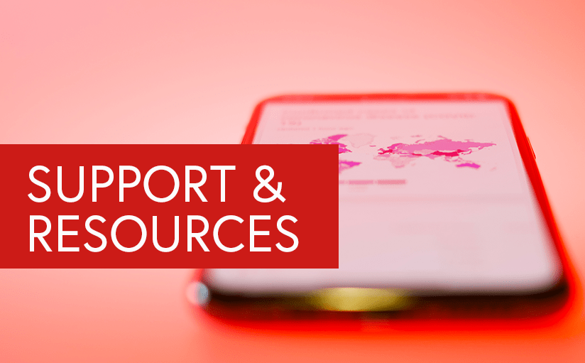 Support resources during the COVID-19 outbreak
