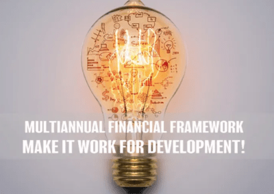 Multi-Annual Financial Framework Timeline
