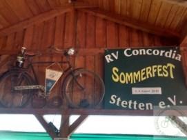 """Das """"alte Vereinsrad"""" hat seinen Ehrenplatz"""
