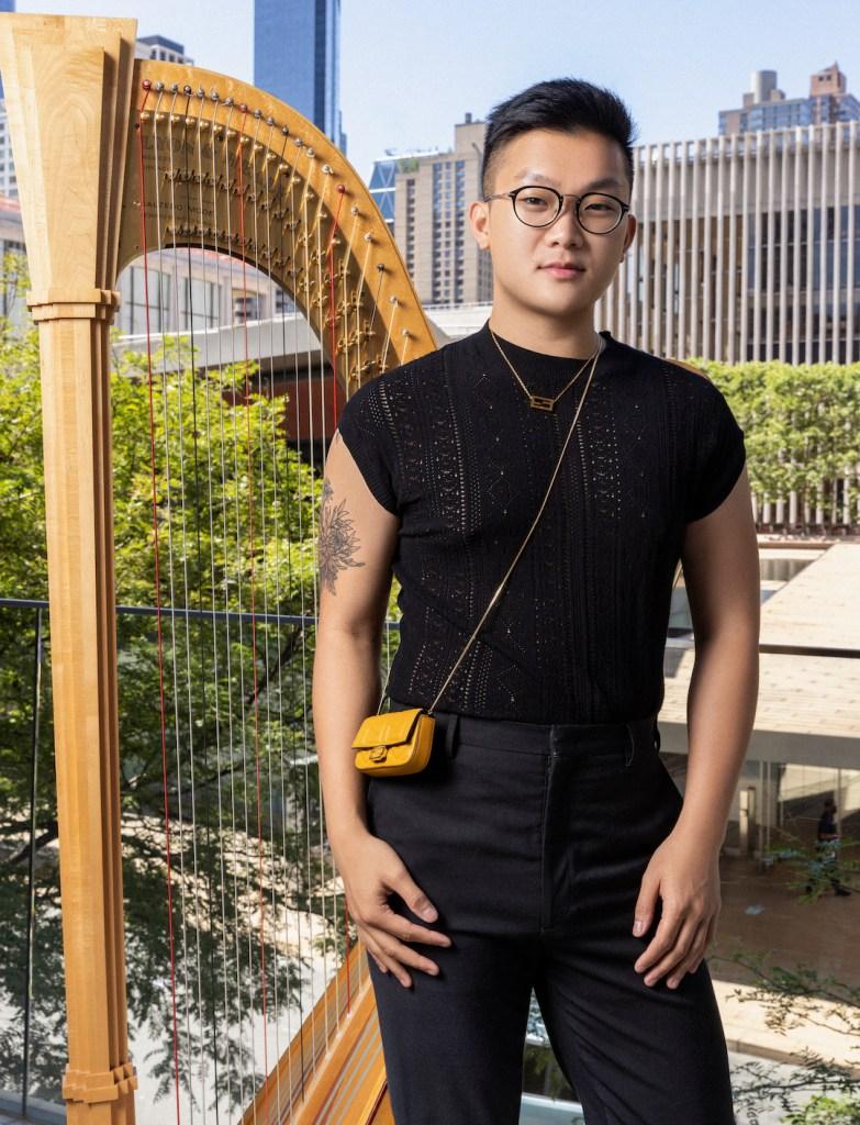 Adam Phan harpist