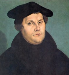 Martin Luther, by Cranach