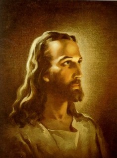 Jesus, as painted by Warner Sallman
