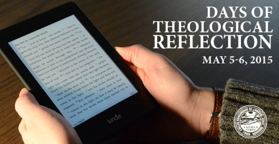 2015 Days of Theological Reflection