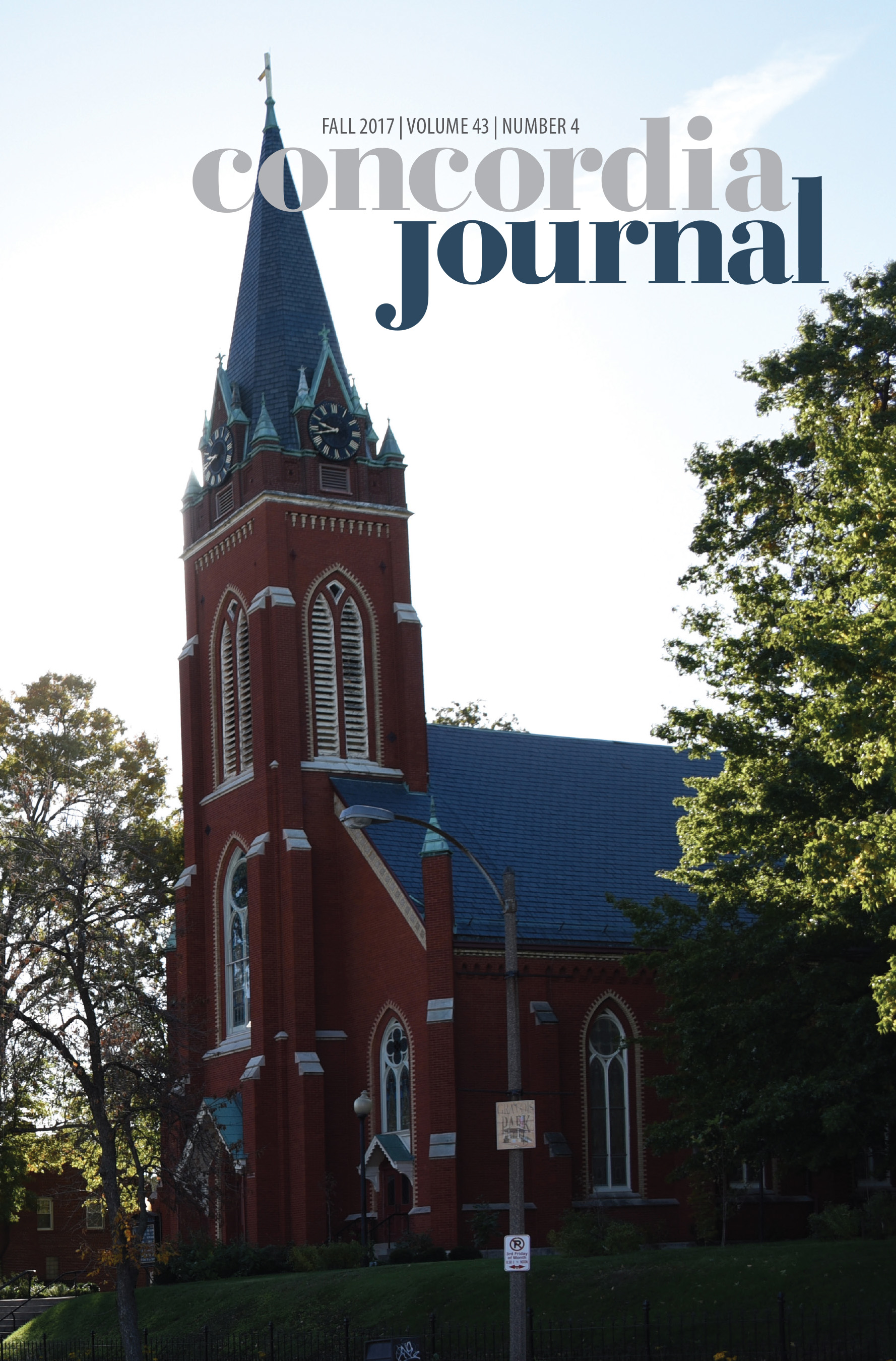 Concordia Journal, Fall 2017