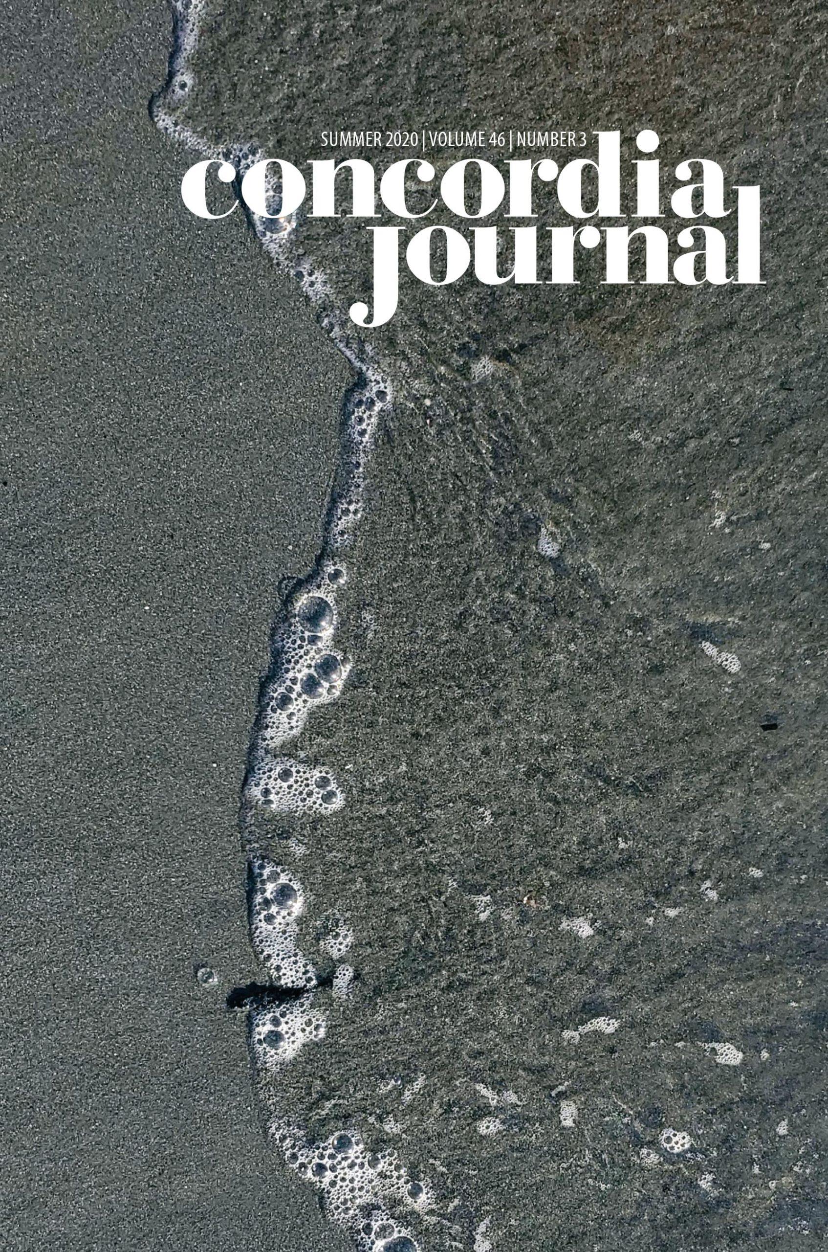 Concordia Journal, Summer 2020