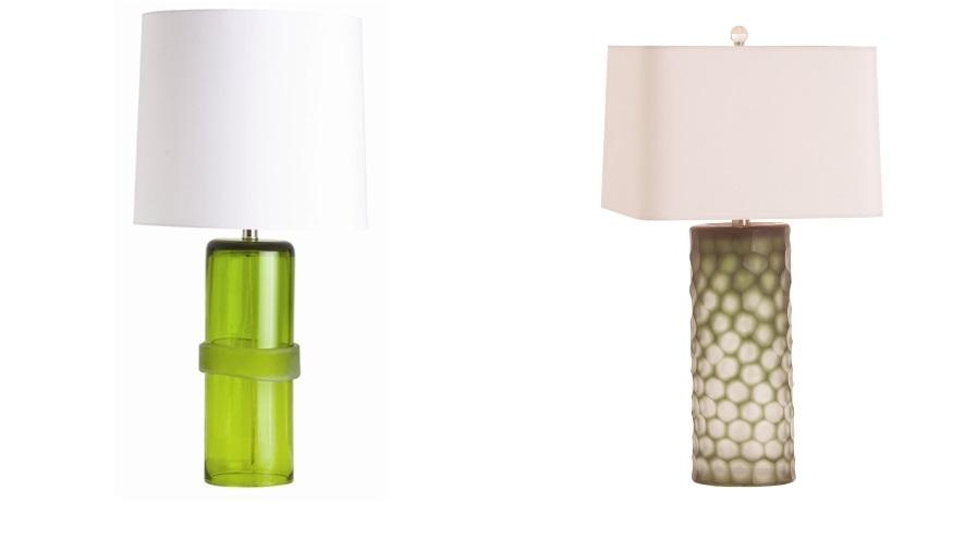 Arteriors - Green Lamp