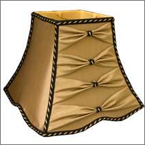 We create custom-made lampshades of all types.