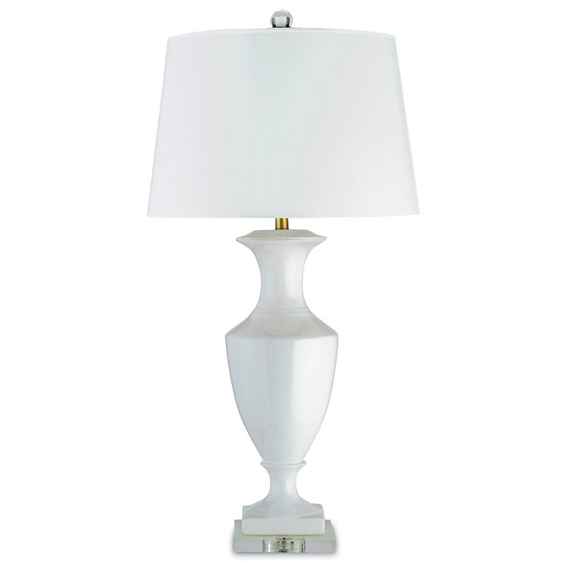 Currey and Company Timeless Table Lamp In White