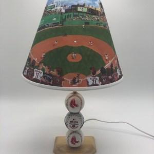 red sox lamp - full - light