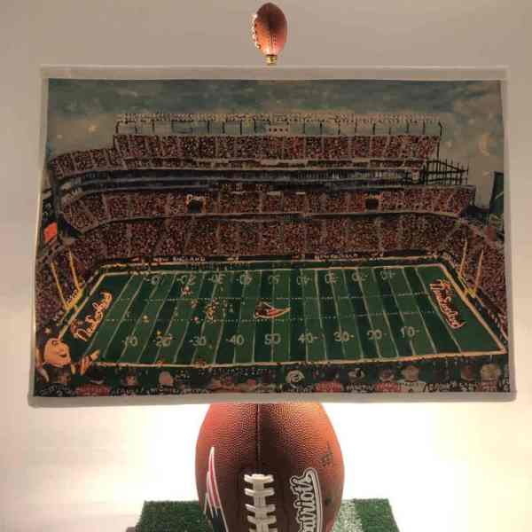 Patriots Football Lampshade_Night Game
