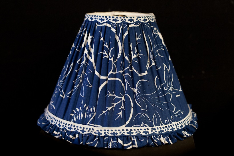Image 2 Shirred Blue and White