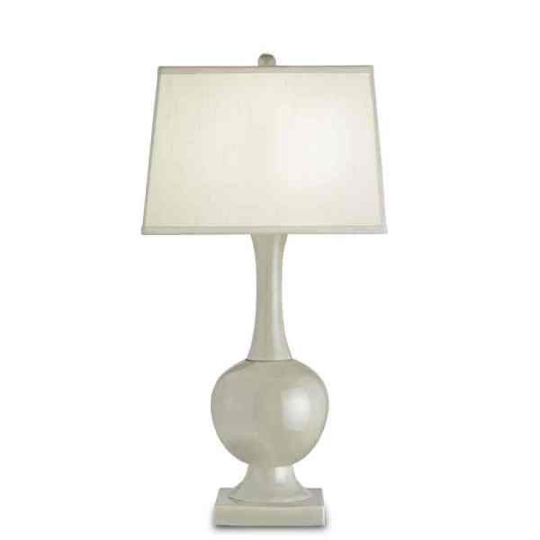 Downton Table Lamp, Pale Celadon