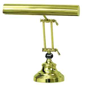 "Advent 14"" Polished Brass Piano/Desk Lamp"