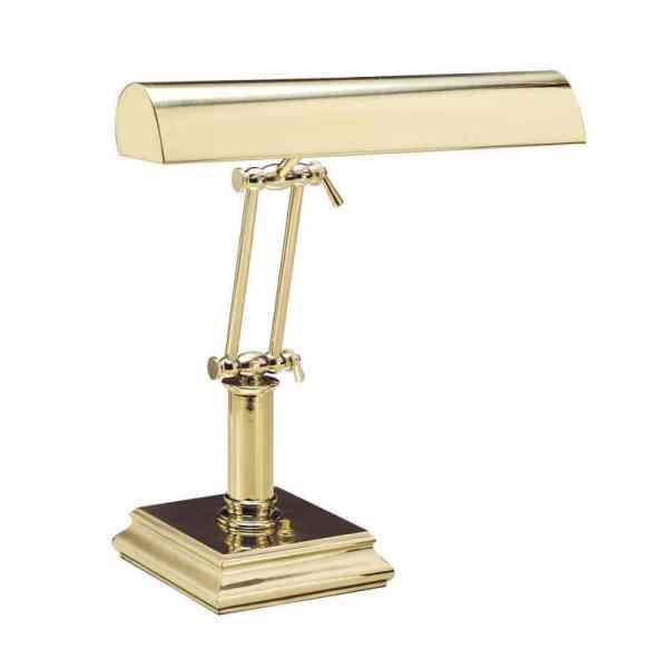 "14"" Polished Brass Piano/Desk"