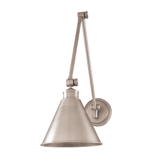 4721-AN_Hudson Valley Exeter Single Light Adjustable Wall Sconce and Wall Swing Arm Lamp in an Antique Nickel Finish