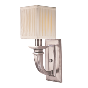 541-HN_Hudson Valley Phoenicia Single Light Wall Sconce in Historic Nickel