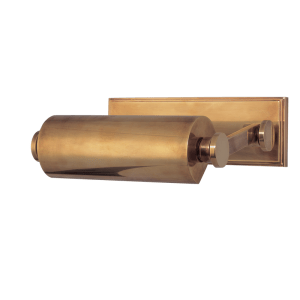 "6008-AGB_Hudson Valley Merrick 10"" Picture Light in an Aged Brass Finish"