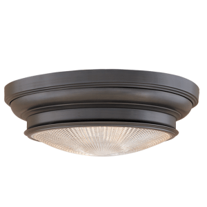 7513_Hudson Valley Woodstock Flush-Mount Ceiling Fixture in an Old Bronze Finish