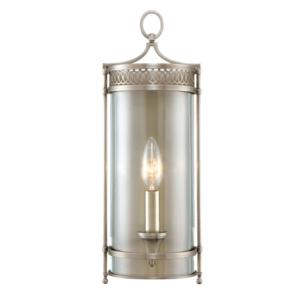 8991-AN_Hudson Valley Amelia Single Light Pendant in an Antique Nickel Finish