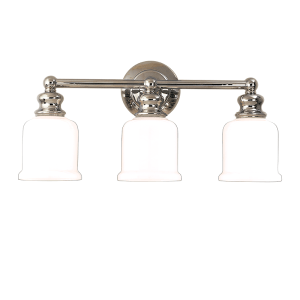 2303-PN_Hudson Valley Riverton 3-Light Bath Sconce in a Polished Nickel Finish