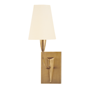 2411-AGB-WS_Hudson Valley Berkley Single Light Wall Sconce in an Aged Brass Finish
