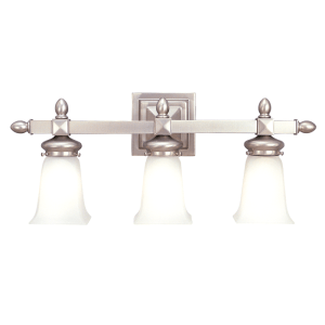 2823-SN_Hudson Valley Cumberland 3-Light Bath Sconce in a Satin Nickel Finish